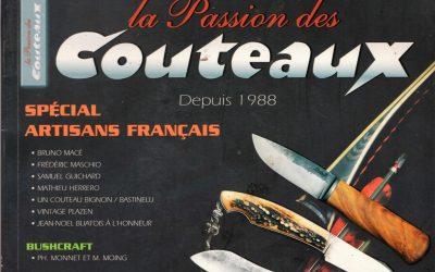 """Work published in """"La Passion des couteaux"""""""
