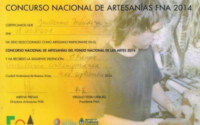 1° Contemporary cutlery – Fondo Nacional de Artes